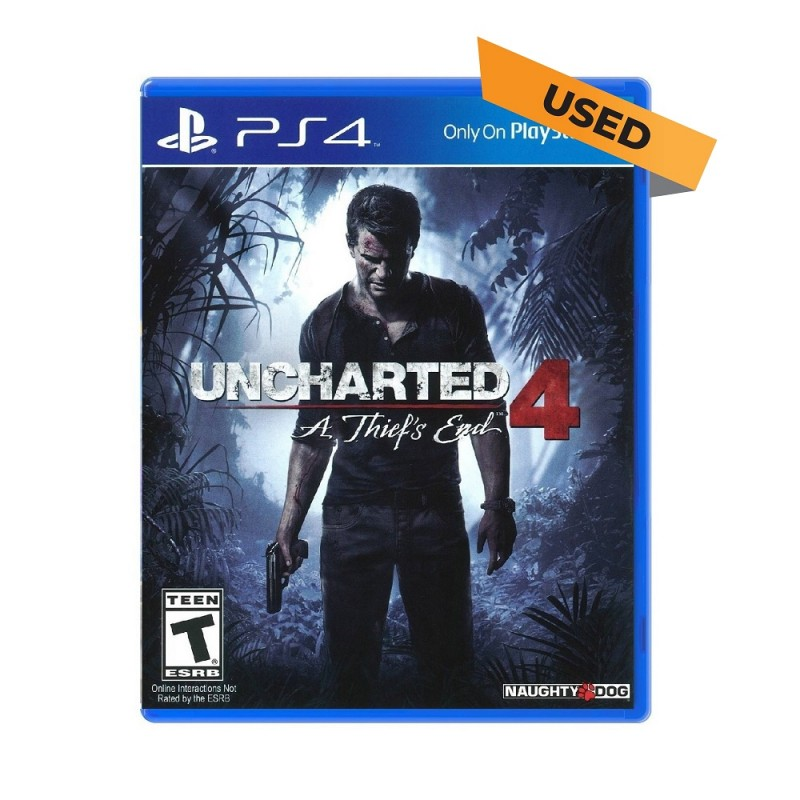 (PS4) Uncharted 4: A Thief's End (ENG) - Used