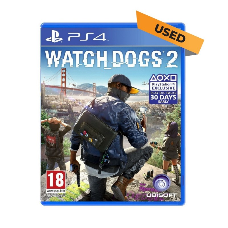 (PS4) Watch Dogs 2 (ENG) - Used