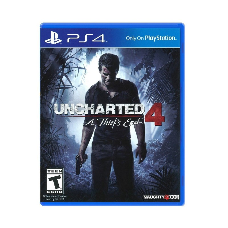 (PS4) Uncharted 4: A Thief's End (R3/ENG/CHN)
