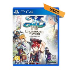 (PS4) YS VIII Lacrimosa of Dana Chinese Version (CHN) - Used