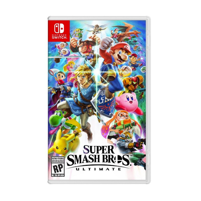 (Switch) Super Smash Bros Ultimate (US/ENG)
