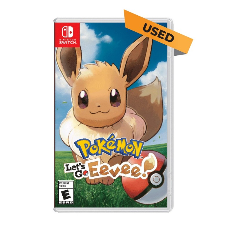 (Switch) Pokémon: Let's Go, Eevee! (ENG) - Used