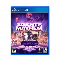 (PS4) Agents of Mayhem (R3/ENG)