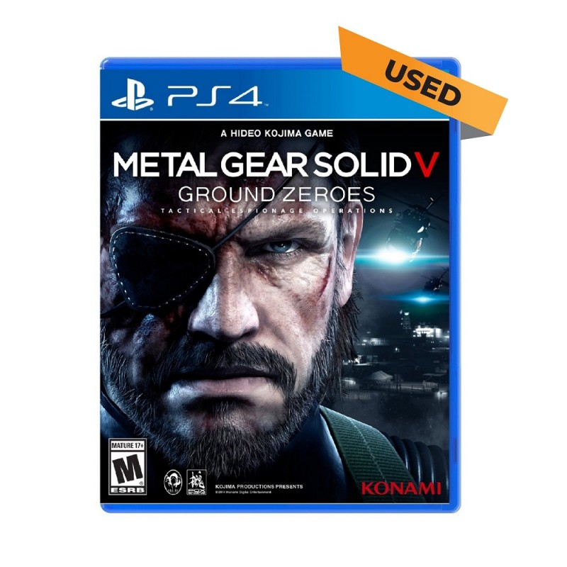 (PS4) Metal Gear Solid V: Ground Zeroes (ENG) - Used