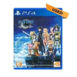 (PS4) Sword Art Online: Hollow Realization Chinese Version (CHN) - Used