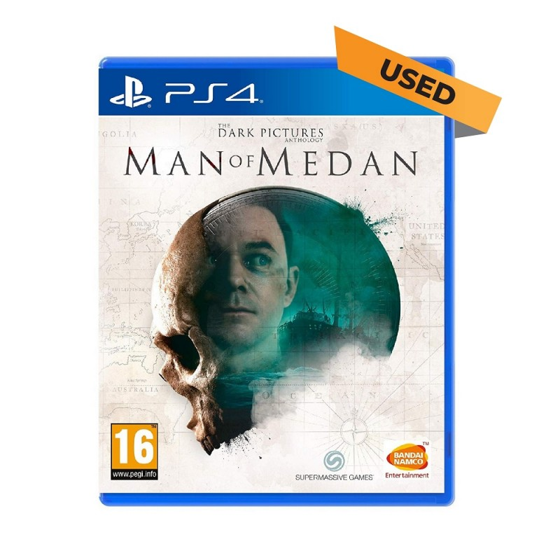 (PS4) The Dark Pictures Anthology: Man of Medan (ENG) - Used