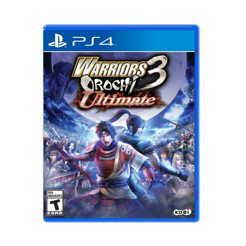 (PS4) Warriors Orochi 3 Ultimate (R2/ENG)