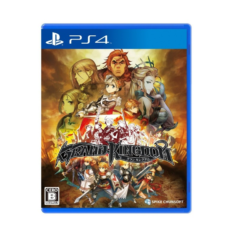 (PS4) Grand Kingdom (R2/ENG)