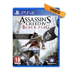 (PS4) Assassin's Creed IV: Black Flag (ENG) - Used