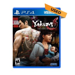 (PS4) Yakuza 6: The Song of Life (ENG) - Used