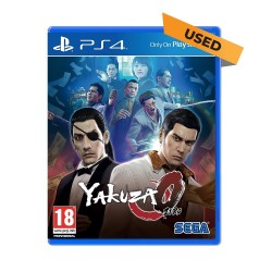 (PS4) Yakuza Zero (ENG) - Used